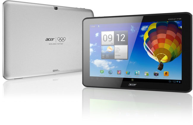 Acer начала поставки планшета Iconia Tab A510