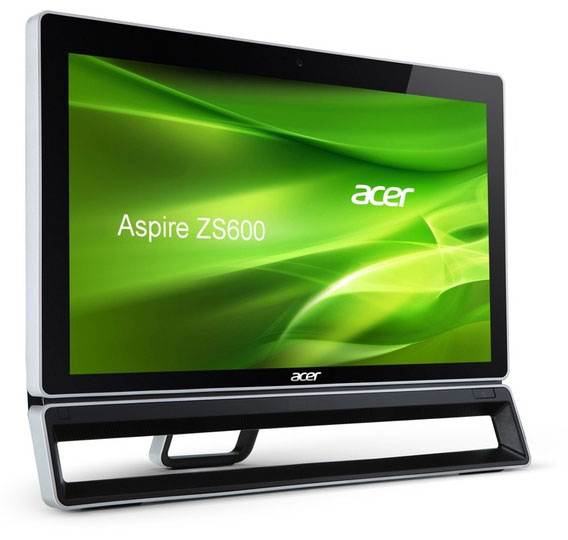 Acer Aspire ZS600: 23-дюймовый AiO с сенсорным дисплеем Multi-Touch