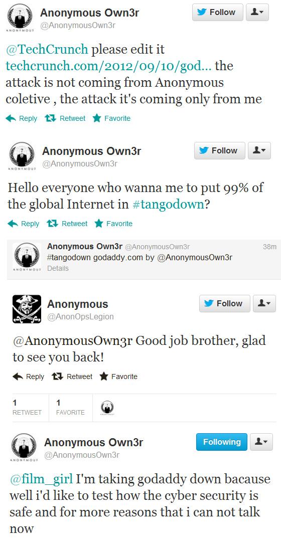 Сбой в работе крупнейшего мирового хостера GoDaddy «положил» тысячи сайтов