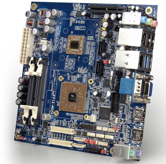 VIA анонсировала компактную материнскую плату EPIA-M920