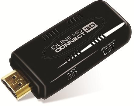 Dune HD представила линейку компактных Full HD медиаплееров – HD Connect