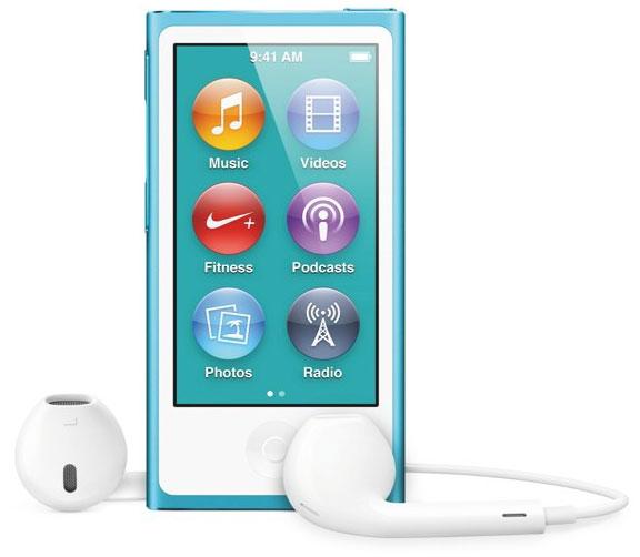 Apple анонсировала обновленный портативный медиаплеер iPod nano