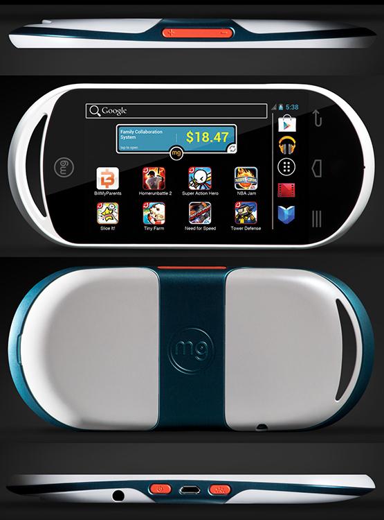 MG – карманная игровая приставка на Android за $170