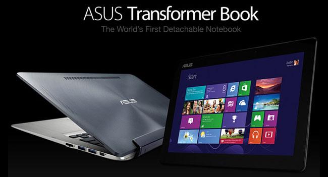 ASUS анонсировала планшетный ноутбук Transformer Book