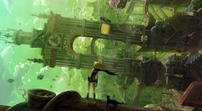 Обзор игры Gravity Rush (PS Vita)