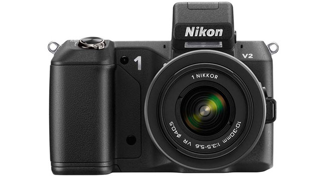 Nikon 1 V2 - новая беззеркальная фотокамера с сенсором формата CX