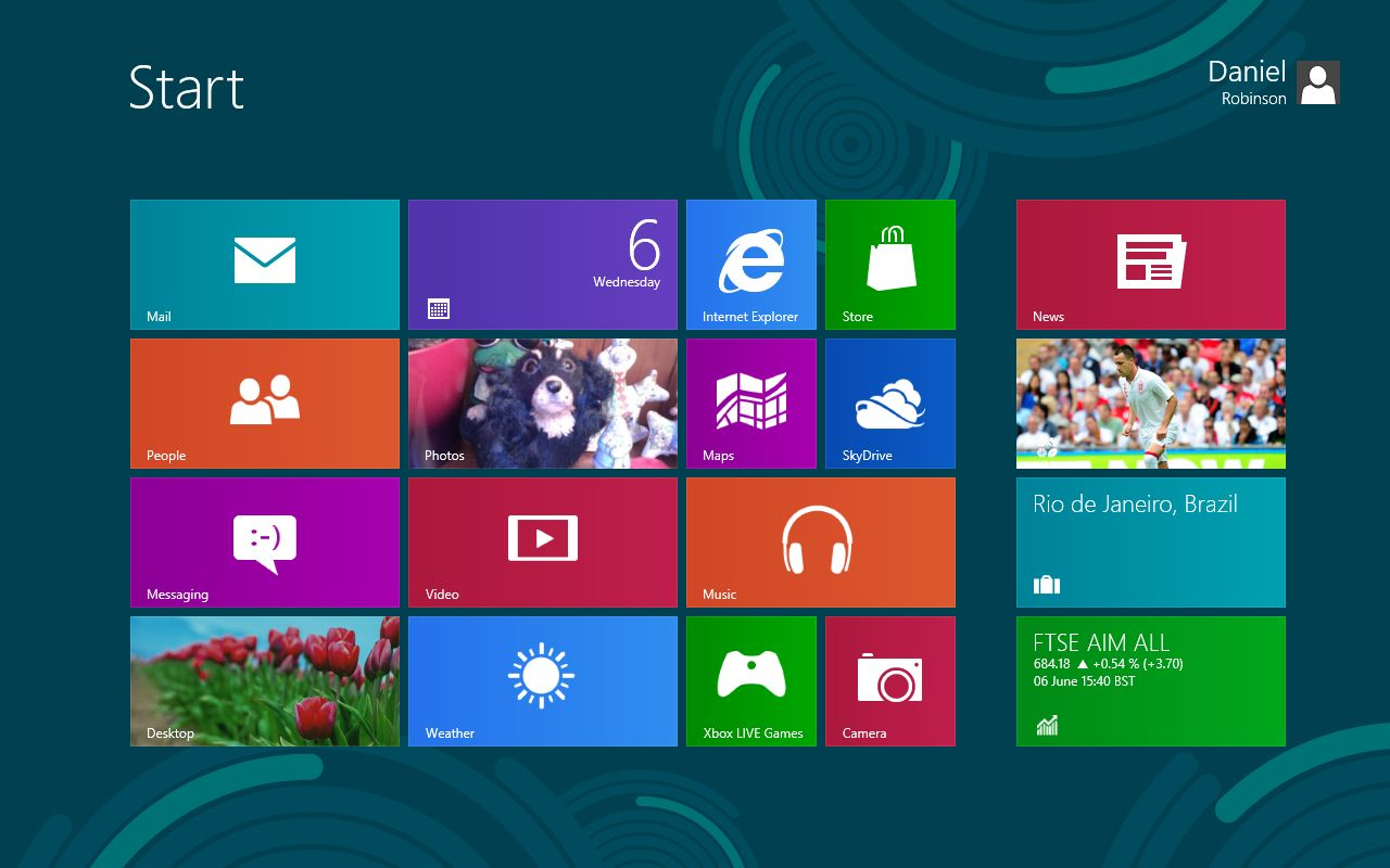 ������� ����������� Windows 8