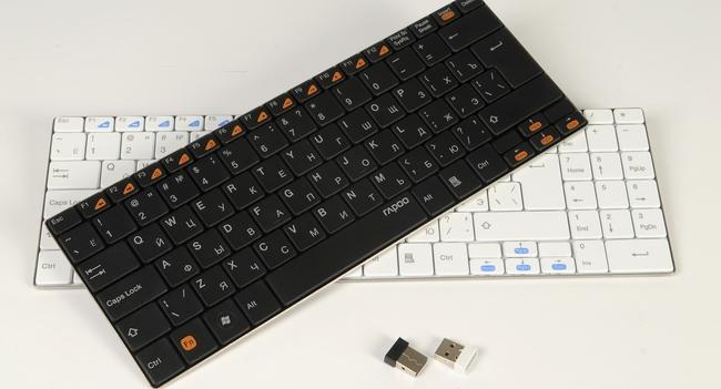 Обзор клавиатур Rapoo E9050 и E9070 для настольных ПК
