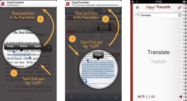 ABBYY выпустила приложение CopyTranslate для мгновенного перевода текстов на iOS