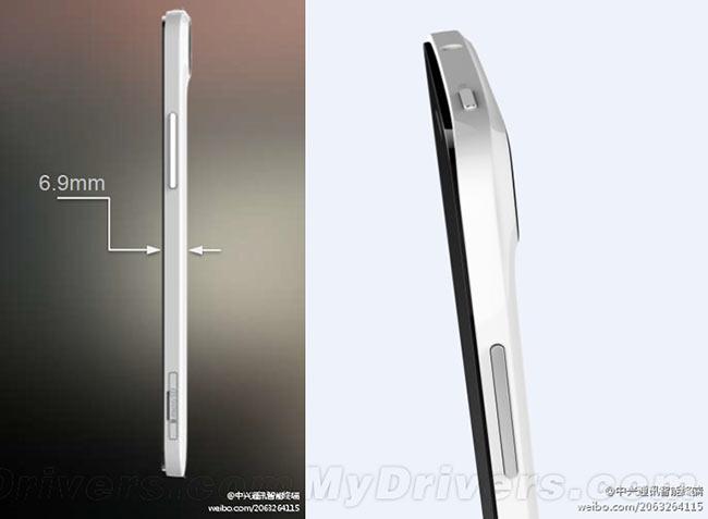 ZTE Grand S может стать самым тонким смартфоном с Full HD дисплеем