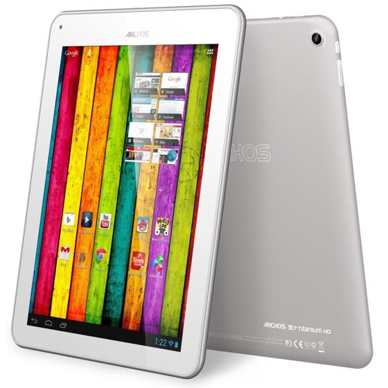 Archos 97 Titanium HD с Retina-дисплеем и ОС Android 4.1: прямой конкурент «большому» iPad
