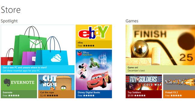 В Windows Store доступно уже более 35 тыс приложений