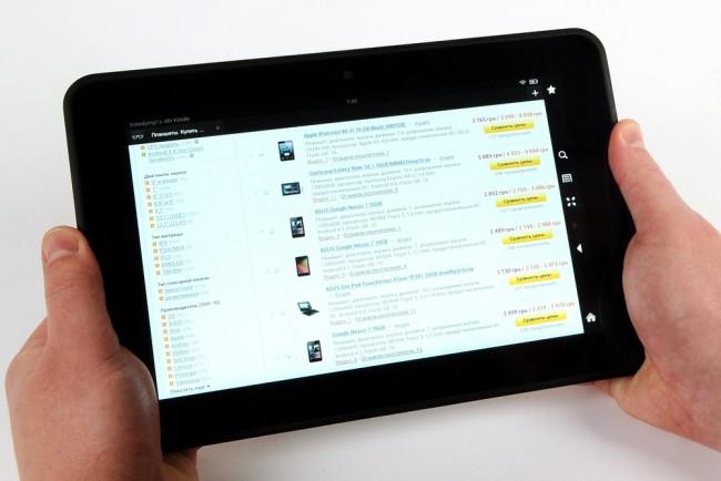 """Обзор планшета Amazon Kindle Fire HD 8.9"""""""