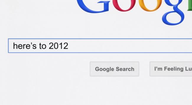 Google Zeitgeist 2012: что мир искал в этом году?