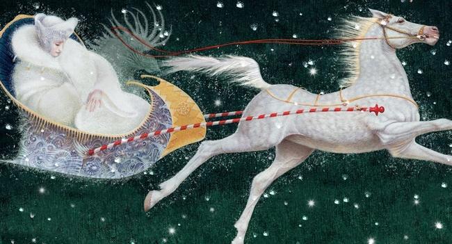 «Снежная Королева» – интерактивная книга с иллюстрациями Владислава Ерко