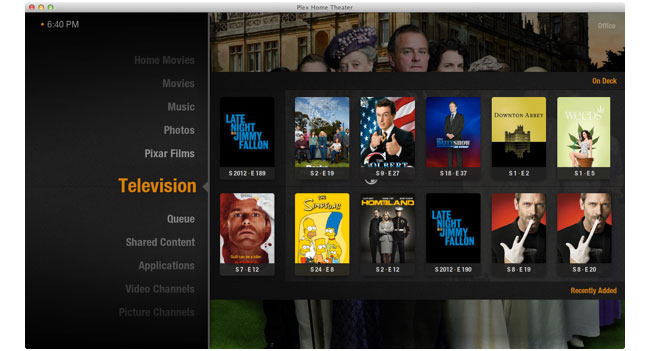 Обновленная программа Plex Home Theater получит поддержку AirPlay и 10-битного видео H.264