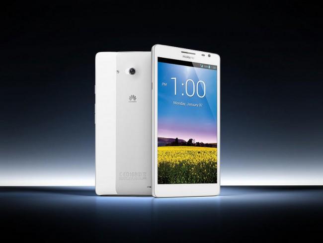 И 5 дюймов мало. Huawei показала на CES 6,1-дюймовый смартфон Ascend Mate