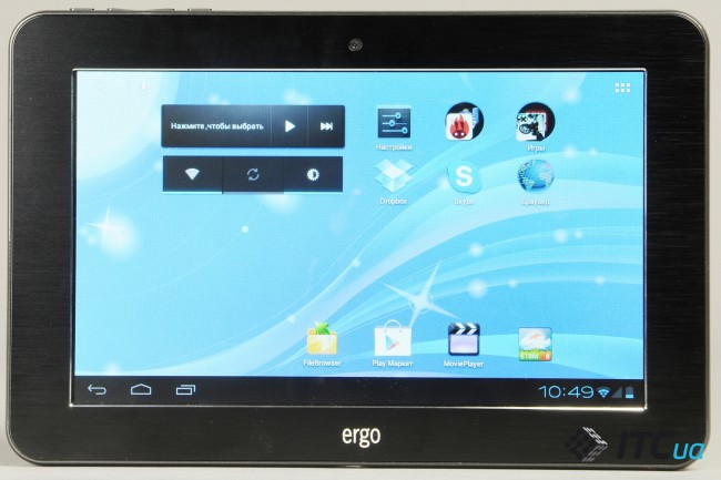 Обзор планшета Ergo Tab Mars