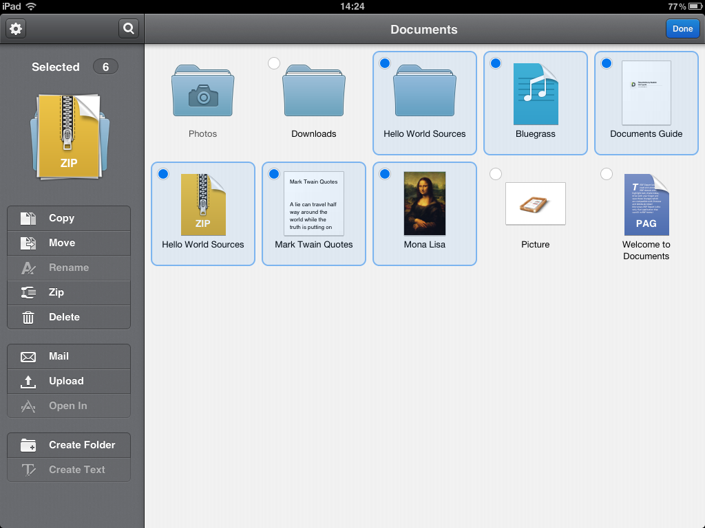 Скачать программы с файлами ipad