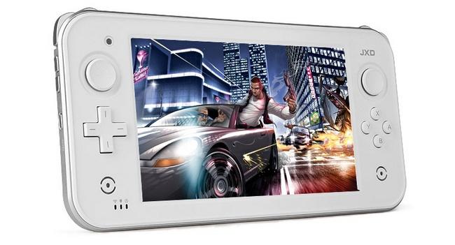 JXD S7300 HD Gamepad2: игровой планшет на Android в стиле Wii U