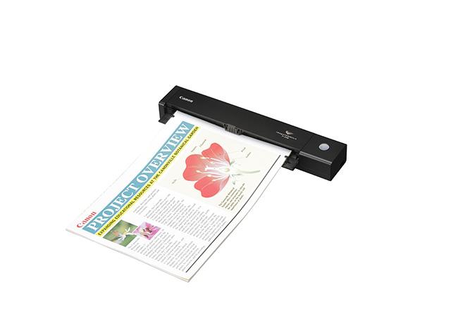 Canon представила компактный портативный сканер для документов