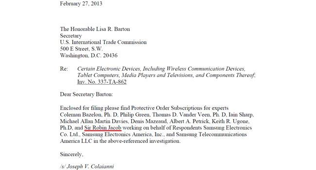Samsung наняла в качестве эксперта судью, который обязал Apple принести ей извинения