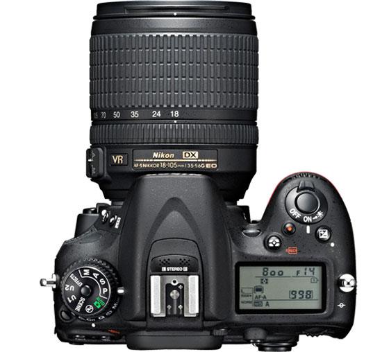 Nikon анонсировала зеркальную камеру D7100