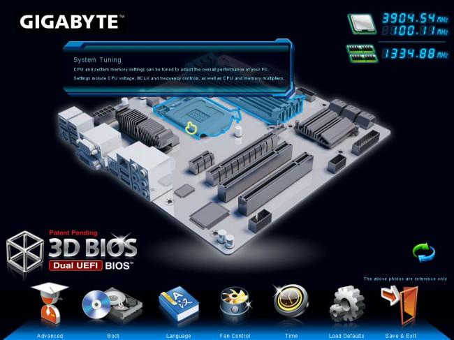 Bios uefi gigabyte serie 8 lga 1150