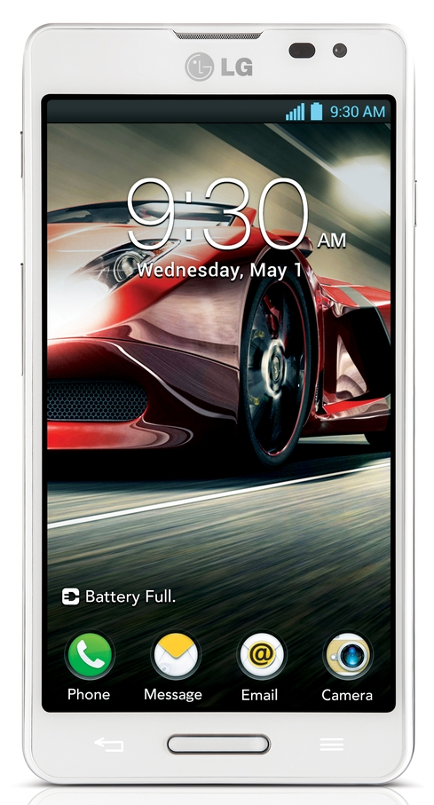 LG Optimus F7 UI