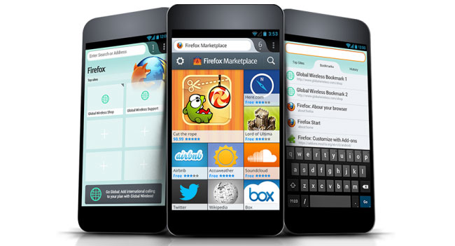 Первые устройства на безе Firefox OS появятся на рынке в середине года