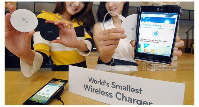 LG показала самое маленькое в мире беспроводное зарядное устройство