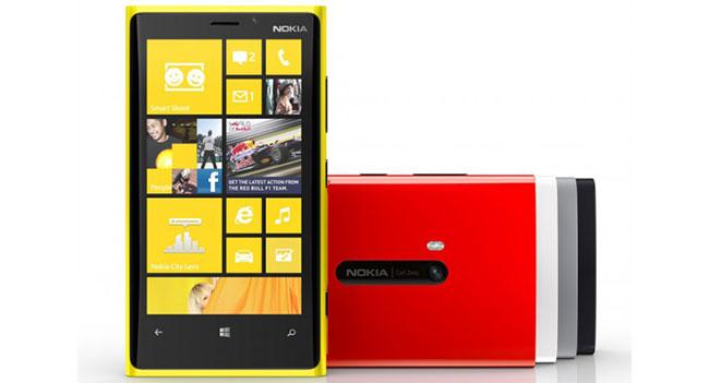 Nokia начинает продажи смартфона Lumia 920 в Украине