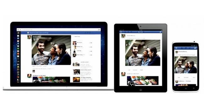 Facebook вводит новый дизайн ленты новостей