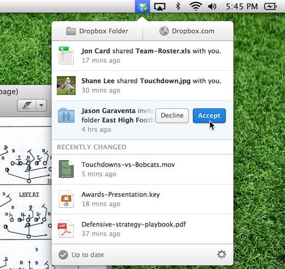 Dropbox обновила настольное приложение для работы с сервисом