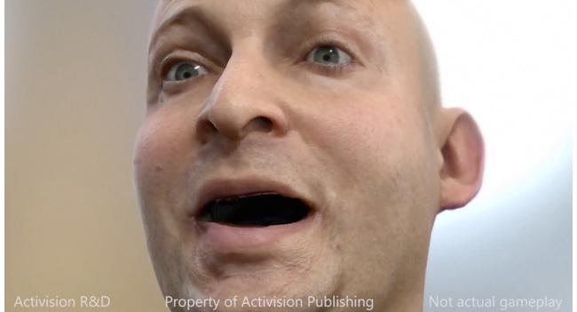 Activision продемонстрировала новую технологию рендеринга изображения лица в режиме реального времени