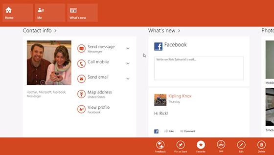 На вторник запланировано обновление встроенных приложений Windows 8: Mail, Calendar и People