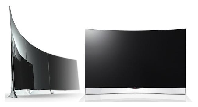 LG начала принимать заказы на первый в мире OLED телевизор с изогнутым дисплеем