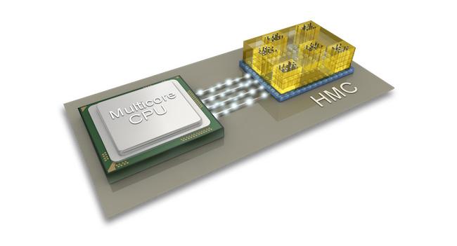 Спецификация памяти Hybrid Memory Cube предусматривает 15-кратный прирост скорости передачи данных по сравнению с DDR3