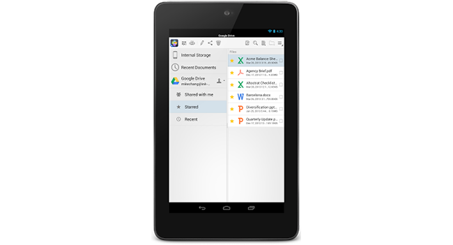 Quickoffice стал доступен на Android и iPhone