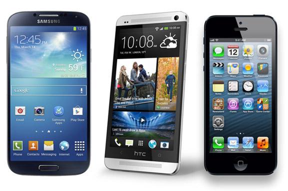 S4-vs-One-vs-iPhone-5