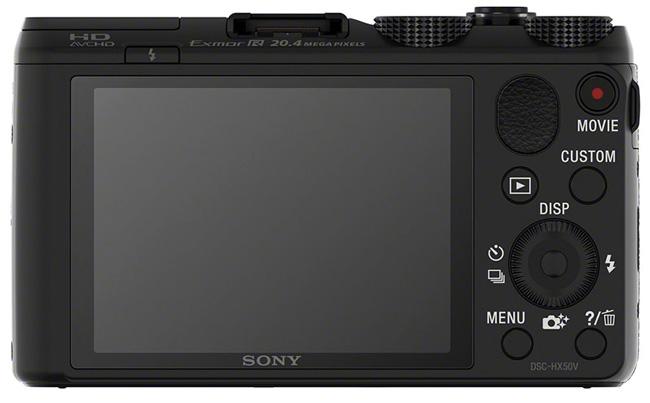 Sony представила компактный суперзум Cyber-shot HX50V