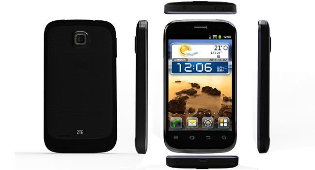 ZTE представляет на украинском рынке смартфон N855D с поддержкой сетей CDMA и GSM