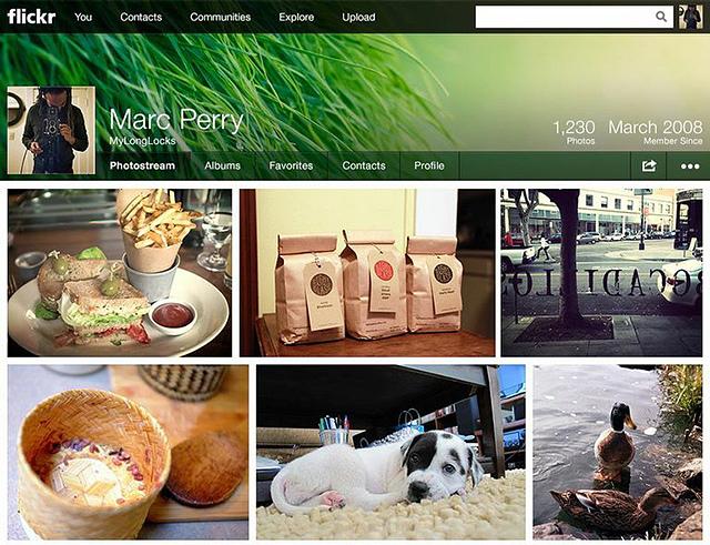 В Flickr изменен дизайн и увеличено дисковое пространство для хранения фотографий до 1 ТБ