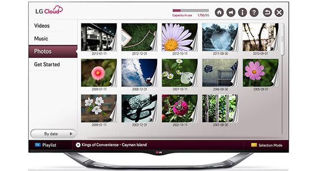 LG объявила о запуске сервиса LG Cloud в Украине
