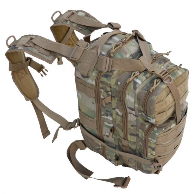 Рюкзак MOLLE вмещает все необходимое для недельного похода