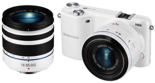 Samsung представляет в Украине беззеркальную камеру NX2000