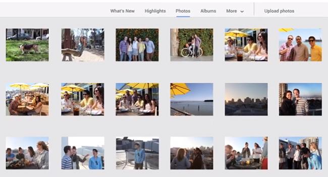 Google улучшила работу с фотографиями в Google+