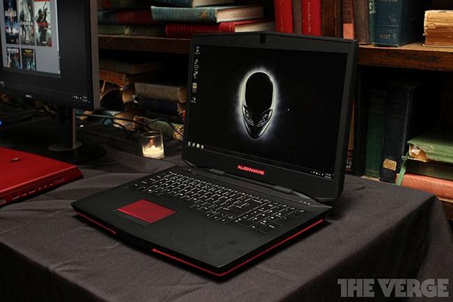 Alienware обновила флагманские игровые ноутбуки — они стали толще