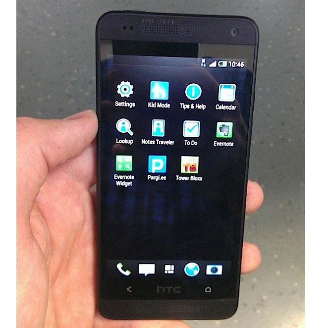 Первые живые фото HTC One «mini»