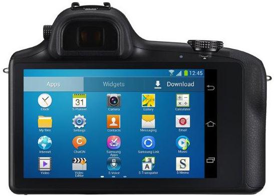 Samsung Galaxy NX – беззеркальная камера с ОС Android и поддержкой 3G/4G подключения